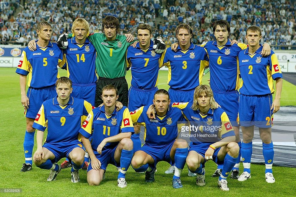 The Ukraine Team Pose For A Team Photo During The Fifa World Cup 2006 Team Photos Fifa Fifa World Cup