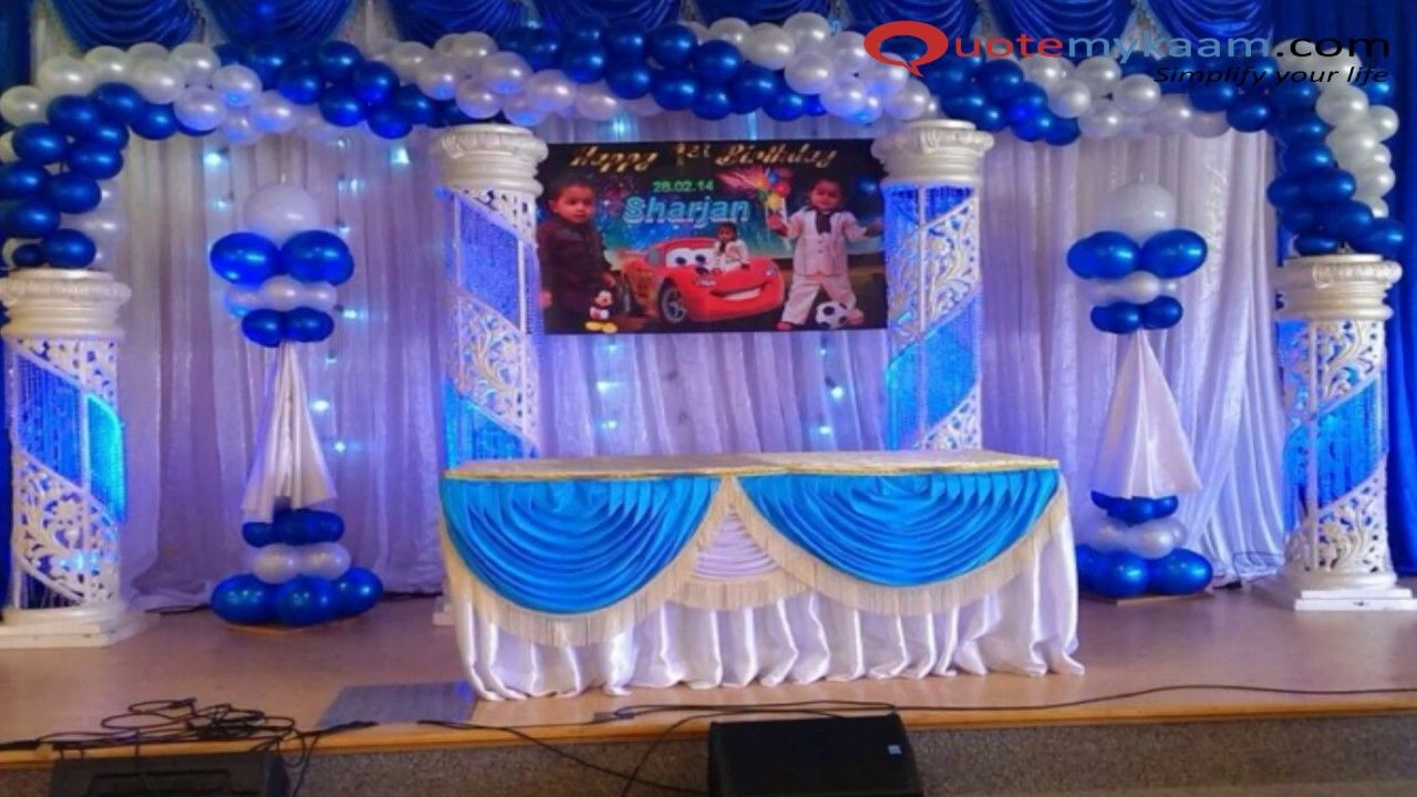 1st Birthday Party Themes For Baby Boy Theme Ideas First In India Indi 1st Birthday Decorations 1st Birthday Party Decorations Birthday Party Theme Decorations