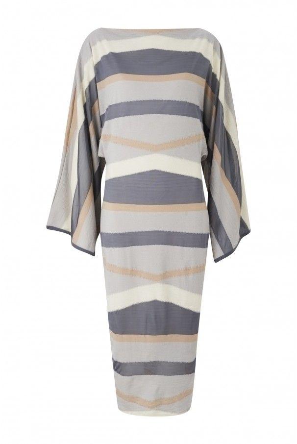 Huachuca Grey Felted Dress | Amanda Wakeley