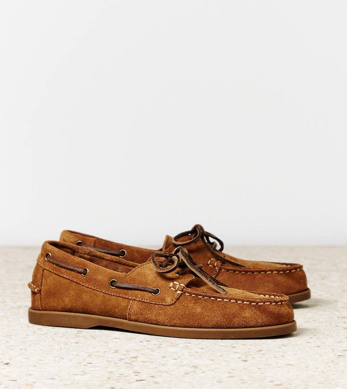 AEO Suede Boat Shoe | Boat shoes mens
