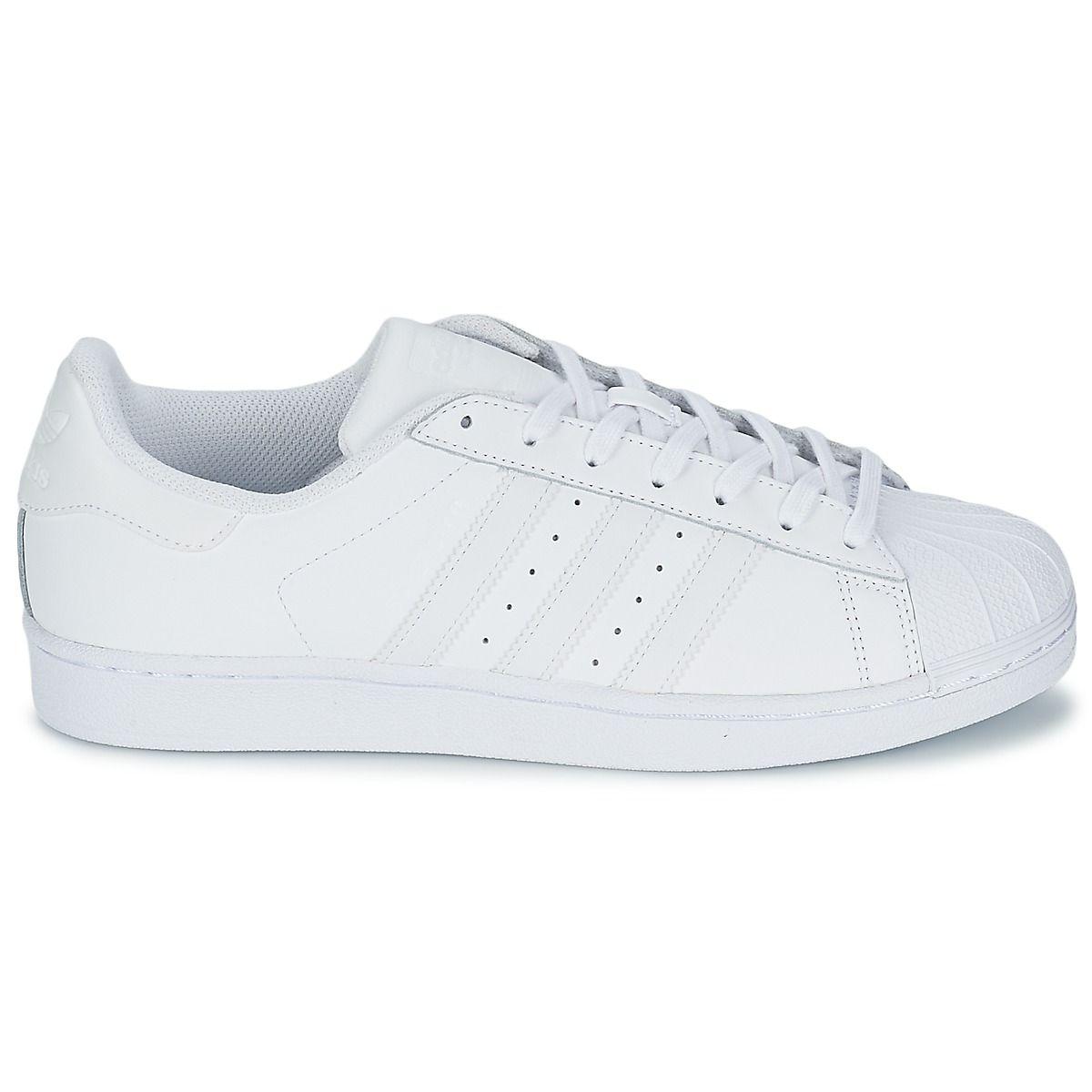Adidas Originals FOUNDATION Sneakers SUPERSTAR FOUNDATION Originals Bianco Women 284ba5