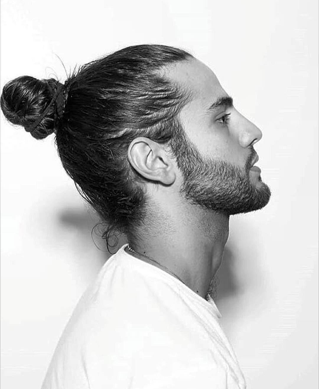 nice 45 awesome man bun hairstyles