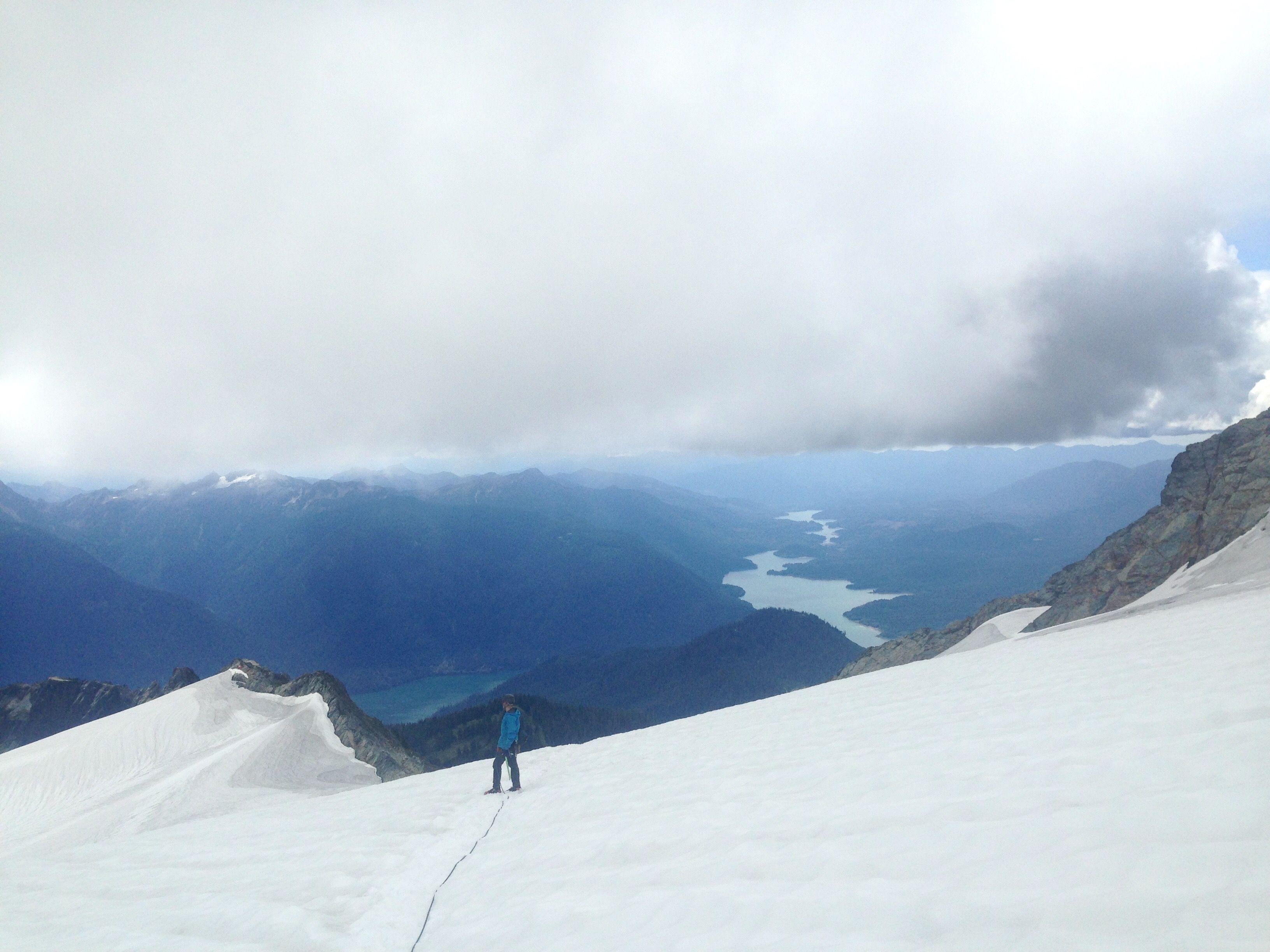 Descending Mt. Shuksan • North Cascades National Park