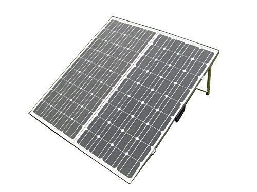 ECO-WORTHY 200W 12V Foldable Mono Solar Panel with 15A Controller, Legs, Clips for Car Caravan ECO-WORTHY http://www.amazon.com/dp/B00U8MRD82/ref=cm_sw_r_pi_dp_bhYTvb1PGA33E