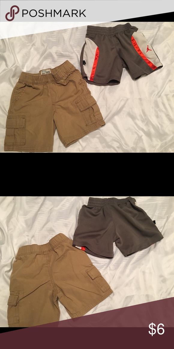 7eae32cf26d9b8 Boys toddler sz 18-24 mo shorts bundle Boys toddler sz 18-24 mo shorts  bundle Boys Grey  orange  white sports shorts sz 18mo ( Jordan) Boys khaki  cargo ...