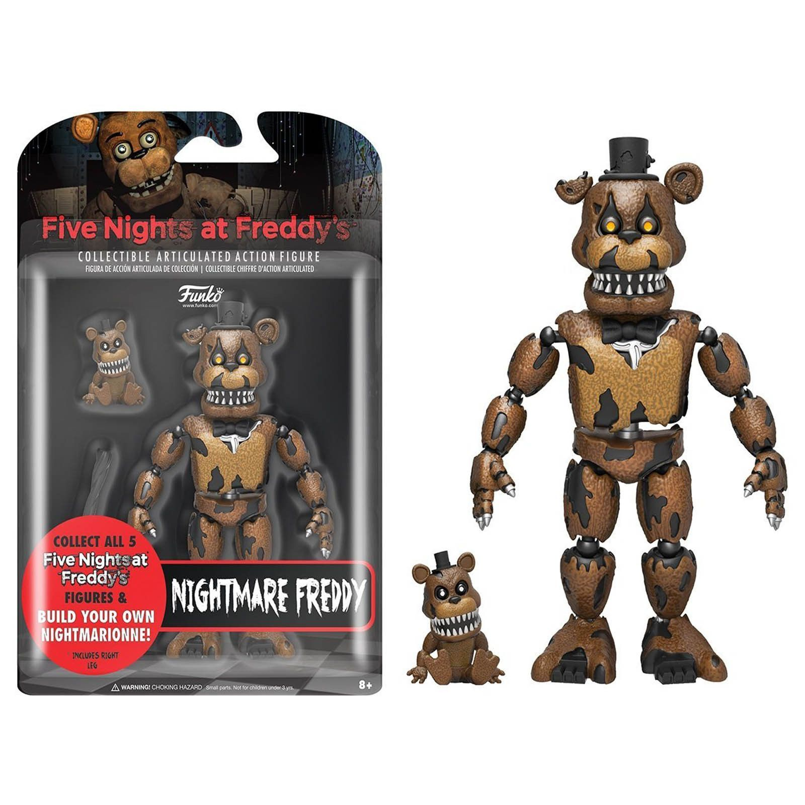 This Is The Funko Five Nights At Freddy's Nightmare Freddy