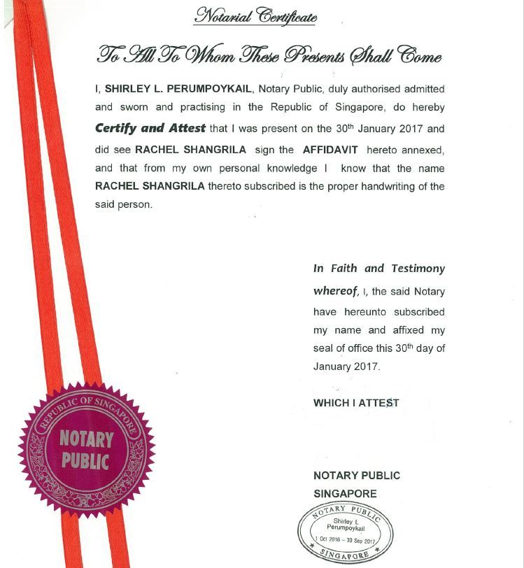 Notary Certificate Sample 1 Z10 Pinterest Certificate