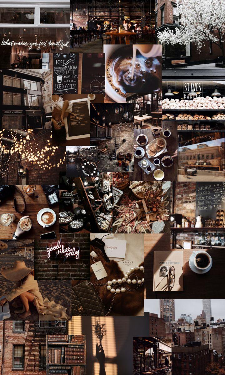dark brown aesthetic iphone wallpaper   Aesthetic desktop ...