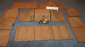 Track Dirt Bike Track Die Cast Dirt Bike Mx Track Toy Mxs