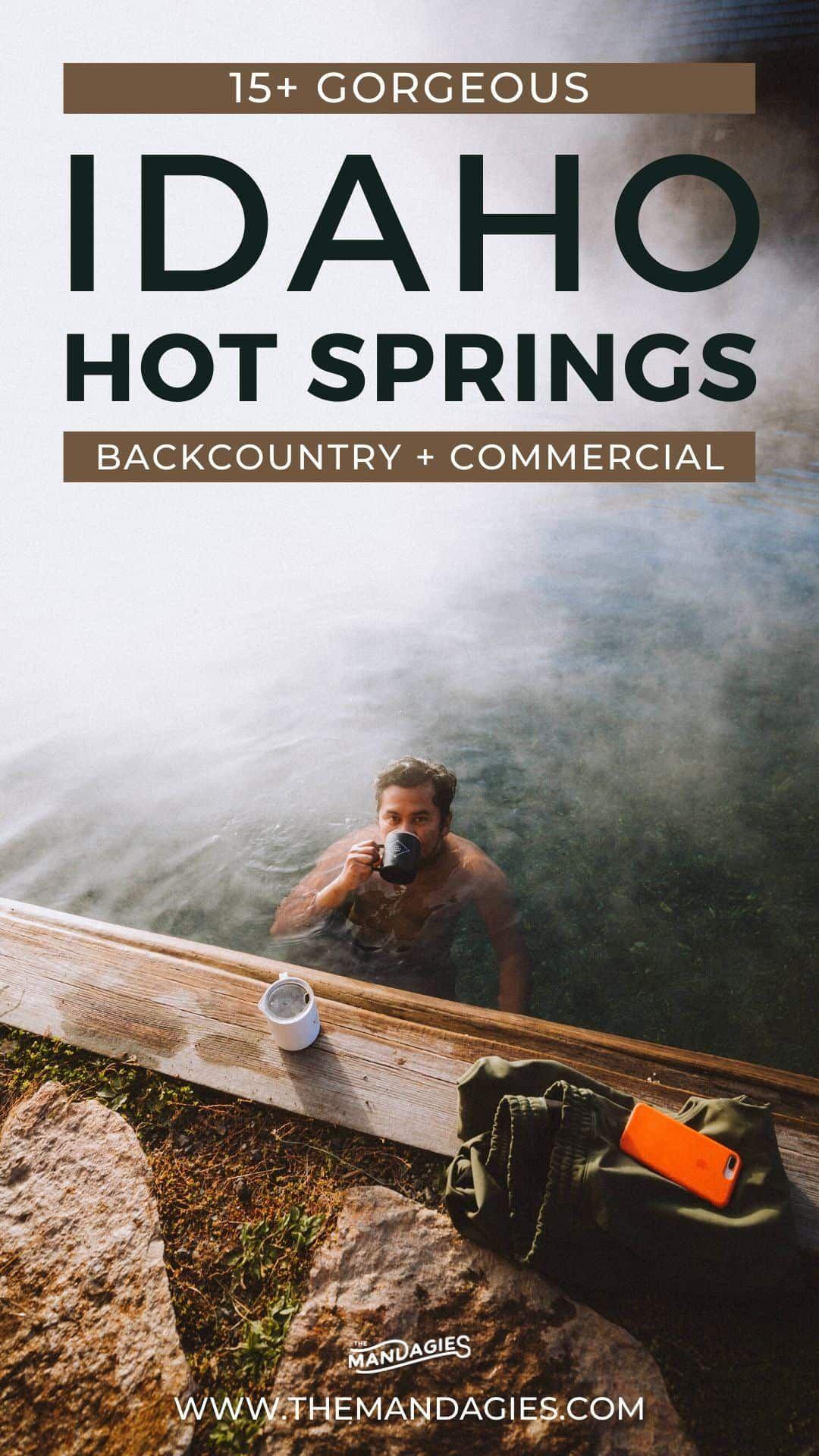 24 Incredible Idaho Hot Springs And Exactly Where