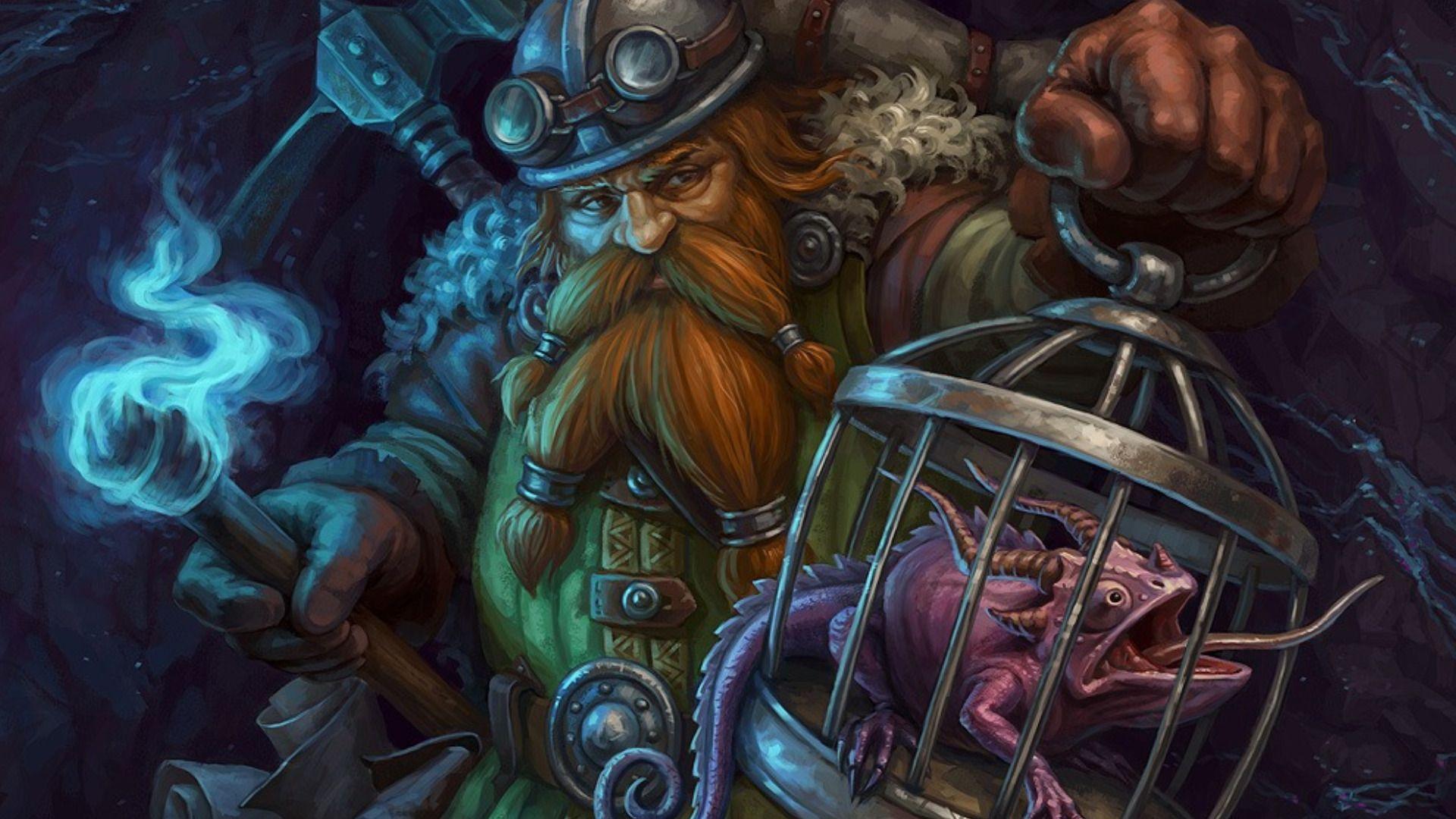 Fantasy Dwarf Wallpaper Fantasy Dwarf Arcane Trickster Fantasy