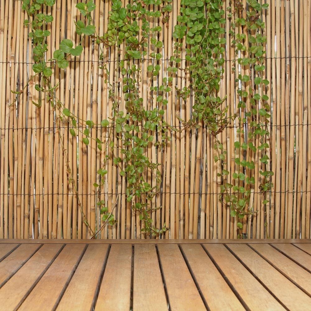 6hx16l Reed Fencing Bamboo Backyard Privacy Screen Fence Outdoor