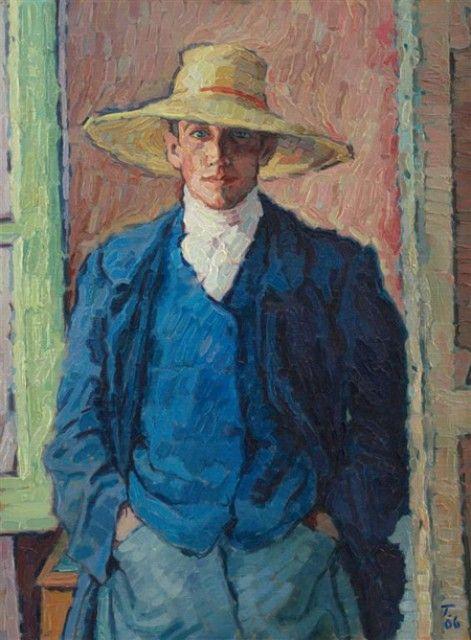 Künstler Bremen rudolf tewes selbstbildnis 1906 kunsthalle bremen мужской