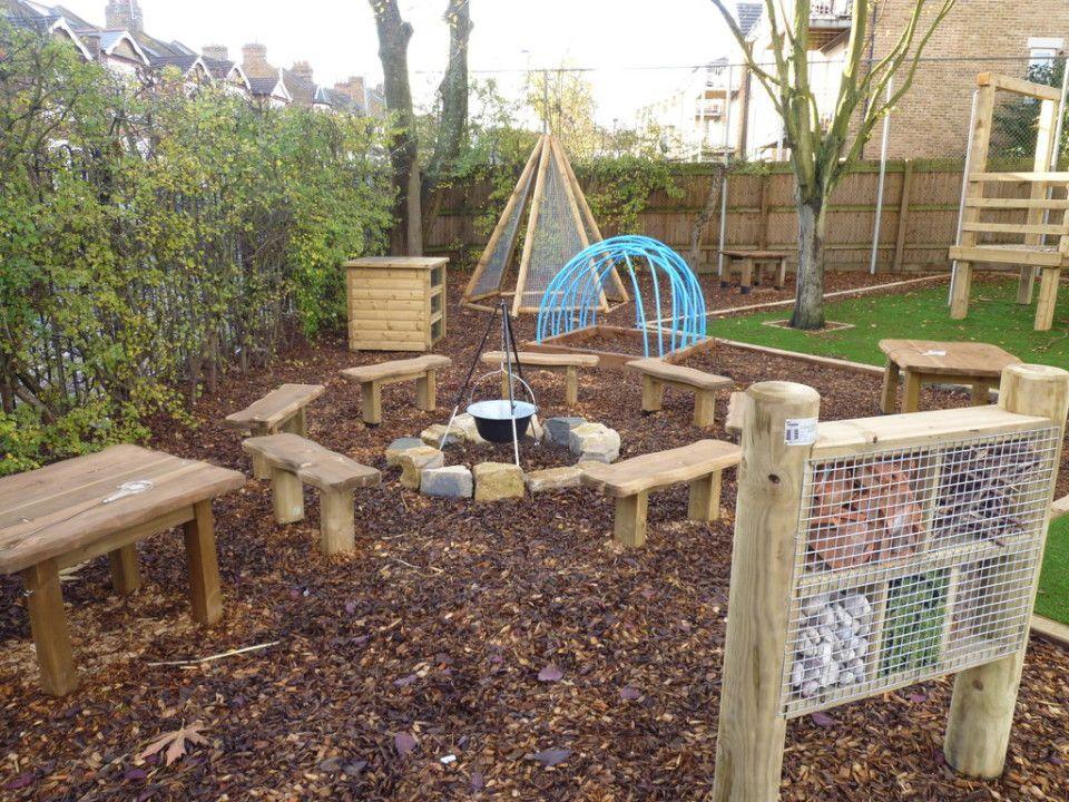 School Nature Play Areas | School outdoor classroom ...