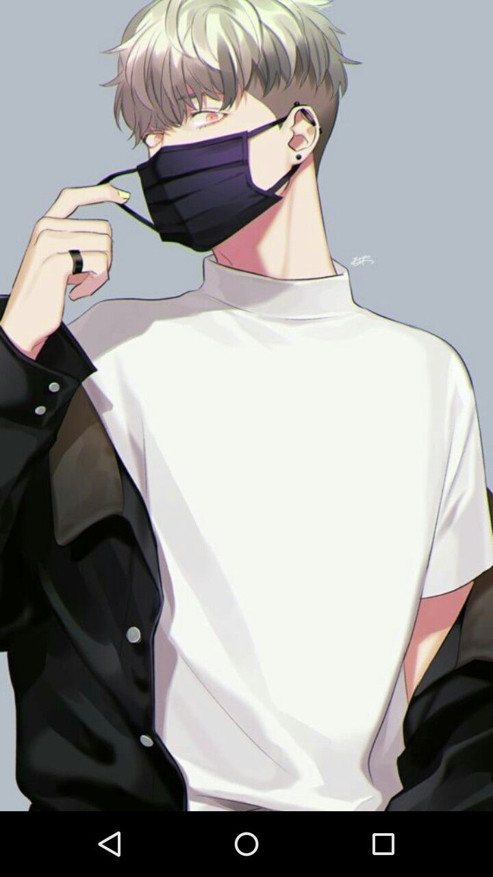 Credit To The Artist White Hair Anime Guy Anime Fanart Anime Guys