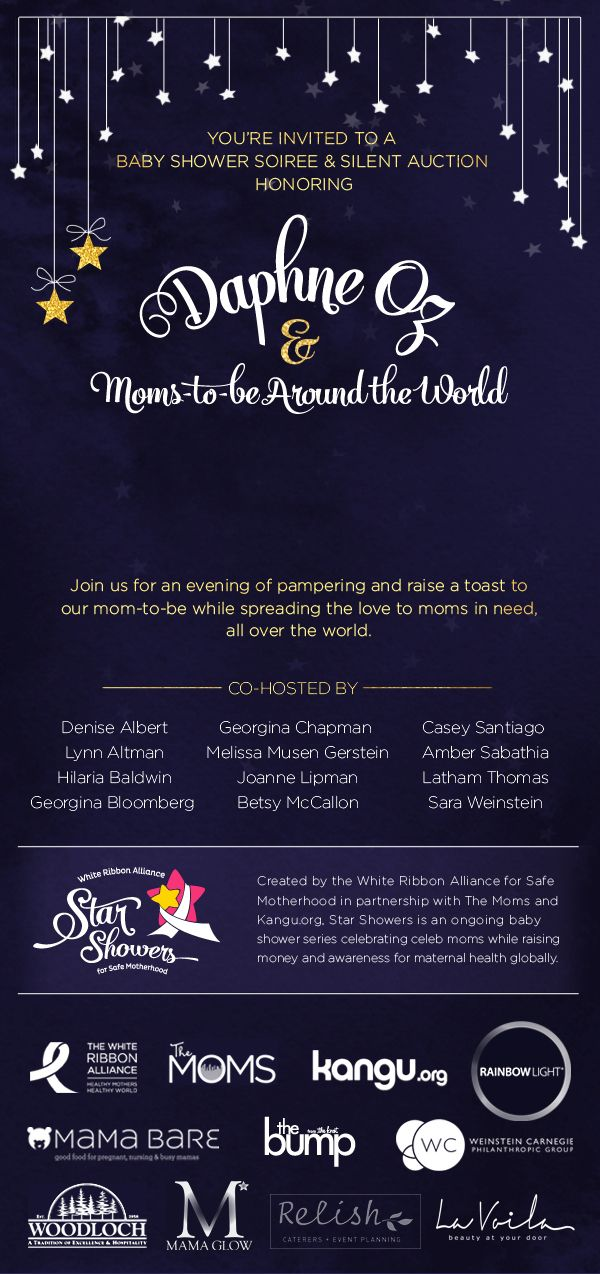 Relish Is Honored To Be A Part Of Star Showers Fundraiser Ensure Every Mother Around The World Safe And Protected Before During