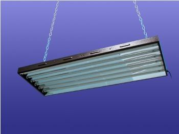 T5 Fluorescent Light Fixture - Fluorescent grow lights for indoor ...