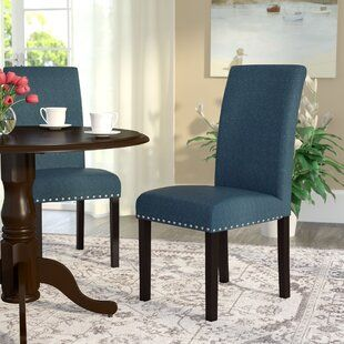 Everly Quinn Connor Upholstered Dining Chair   Wayfair