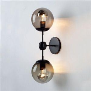 Wandleuchte Vintage 2 Flammig Kugel Form Beleuchtung Wandleuchte Vintage Deckenlampe Vintage