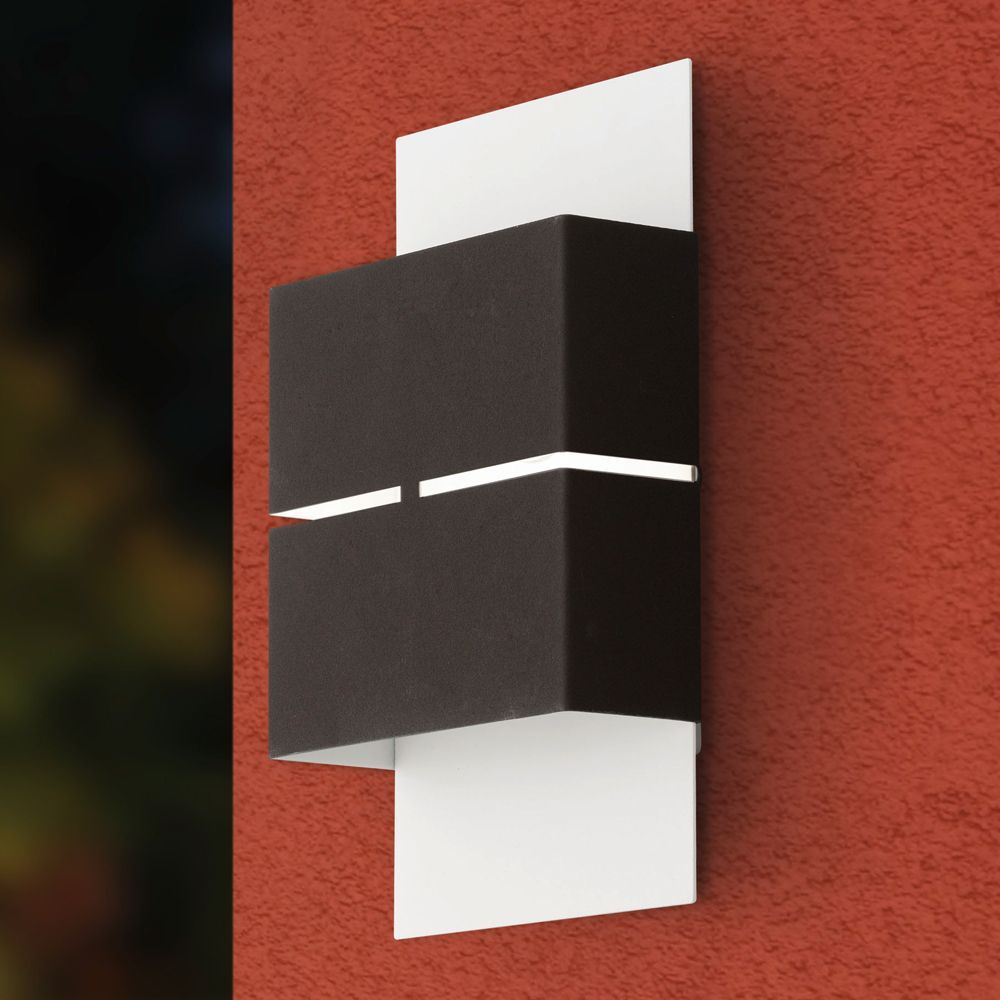 Wall Mounted Lights - The Eglo Kibea LED Exterior Wall Light is a ...