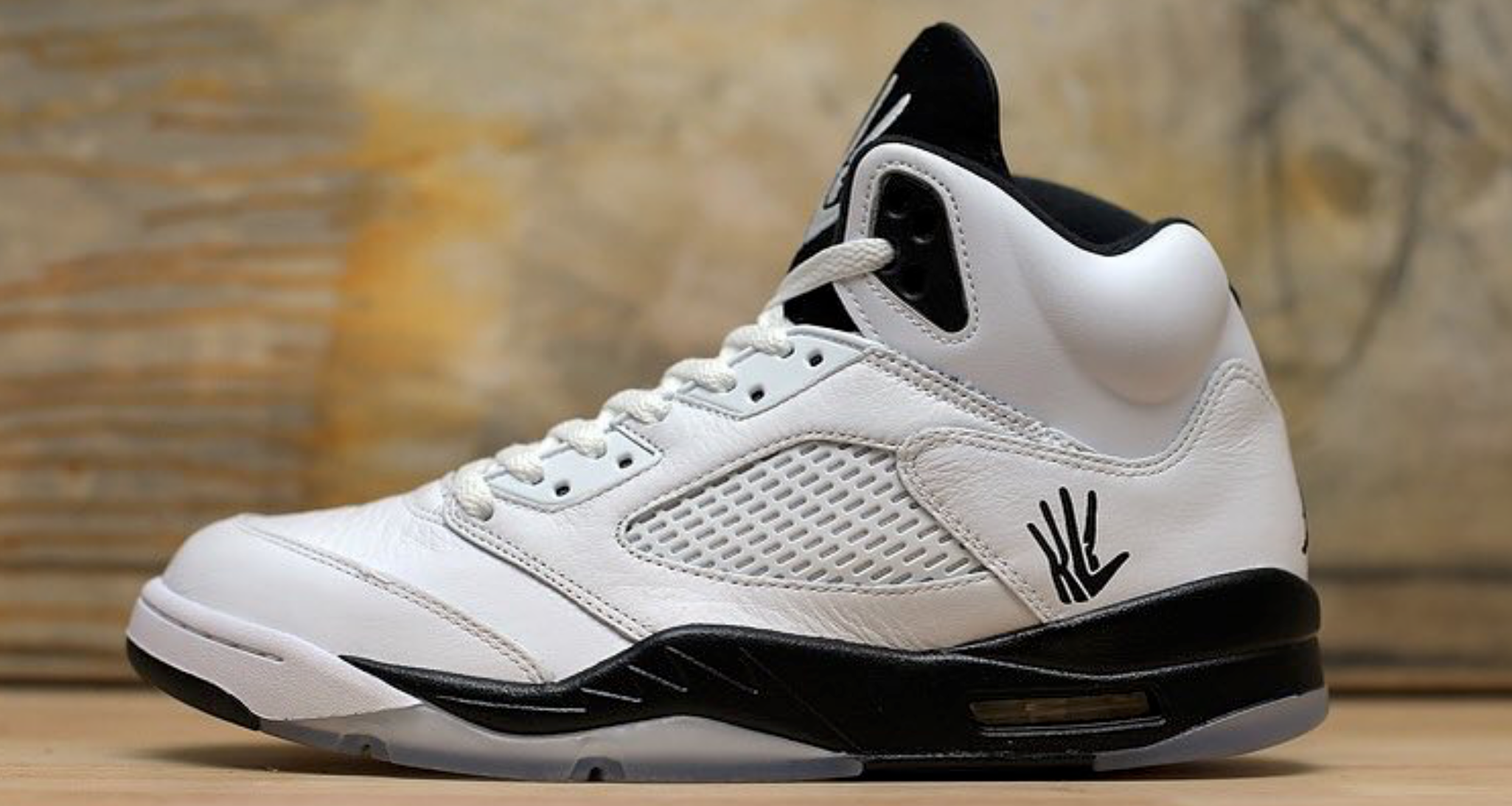 4b060674cceb Kawhi Leonard Inspires PE Perfect Air Jordan 5 Custom by Dank