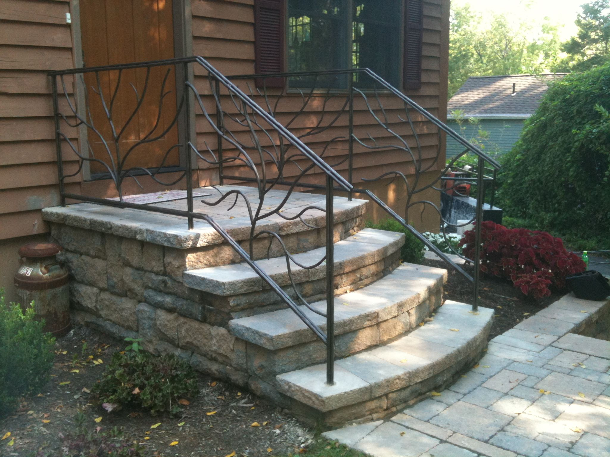 Best Signature Tree Branch Style Railing Railings Outdoor 400 x 300