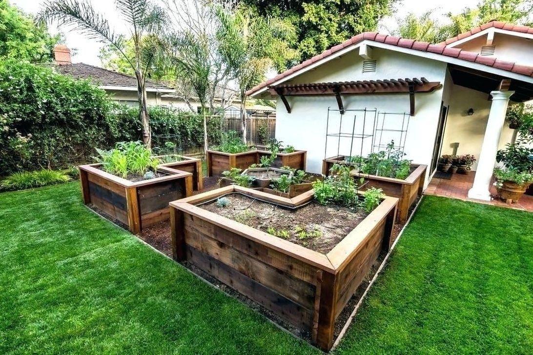 Awesome Raised Garden Bed Ideas For Backyard Landscaping 09 Raised Bed Garden Design Raised Garden Bed Plans Backyard Garden Layout Backyard raised garden bed ideas