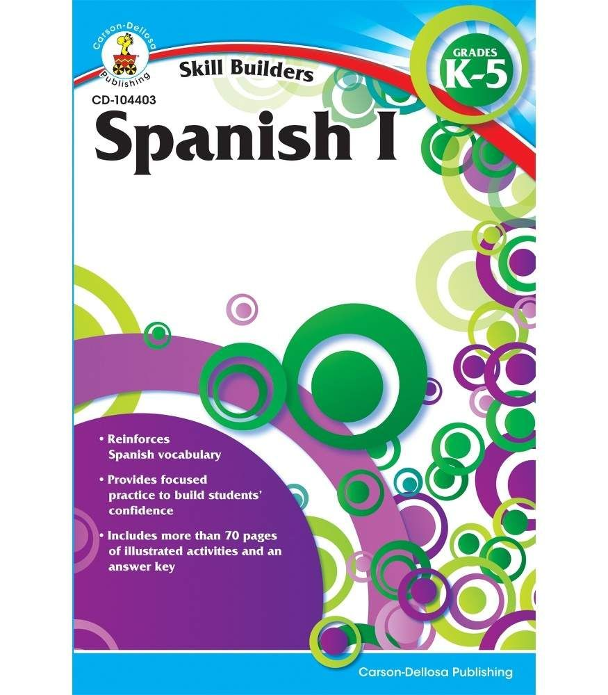 Spanish I Workbook | Carson-Dellosa Publishing