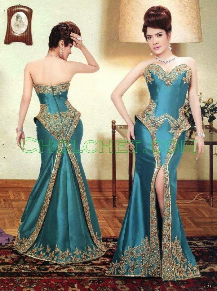 Khmer Silk Dress (Traditional & Modern) #Cambodia #Khmer # ...