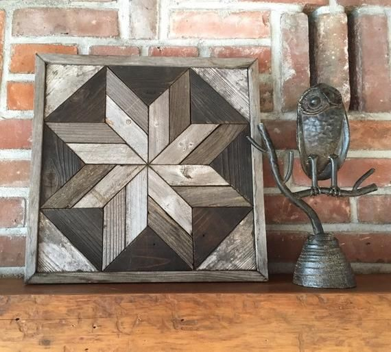 Reclaimed Wood Wall Art - Lone Star Twist - Sustainable Art - Modern Rustic Reclaimed wood wall art - Lone Star Twist - Sustainable Art - Modern rustic Wall Art reclaimed wood wall art