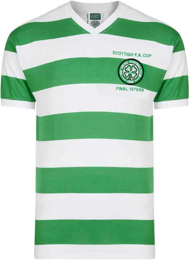 83bfd47be Celtic home shirt for 1979-80.