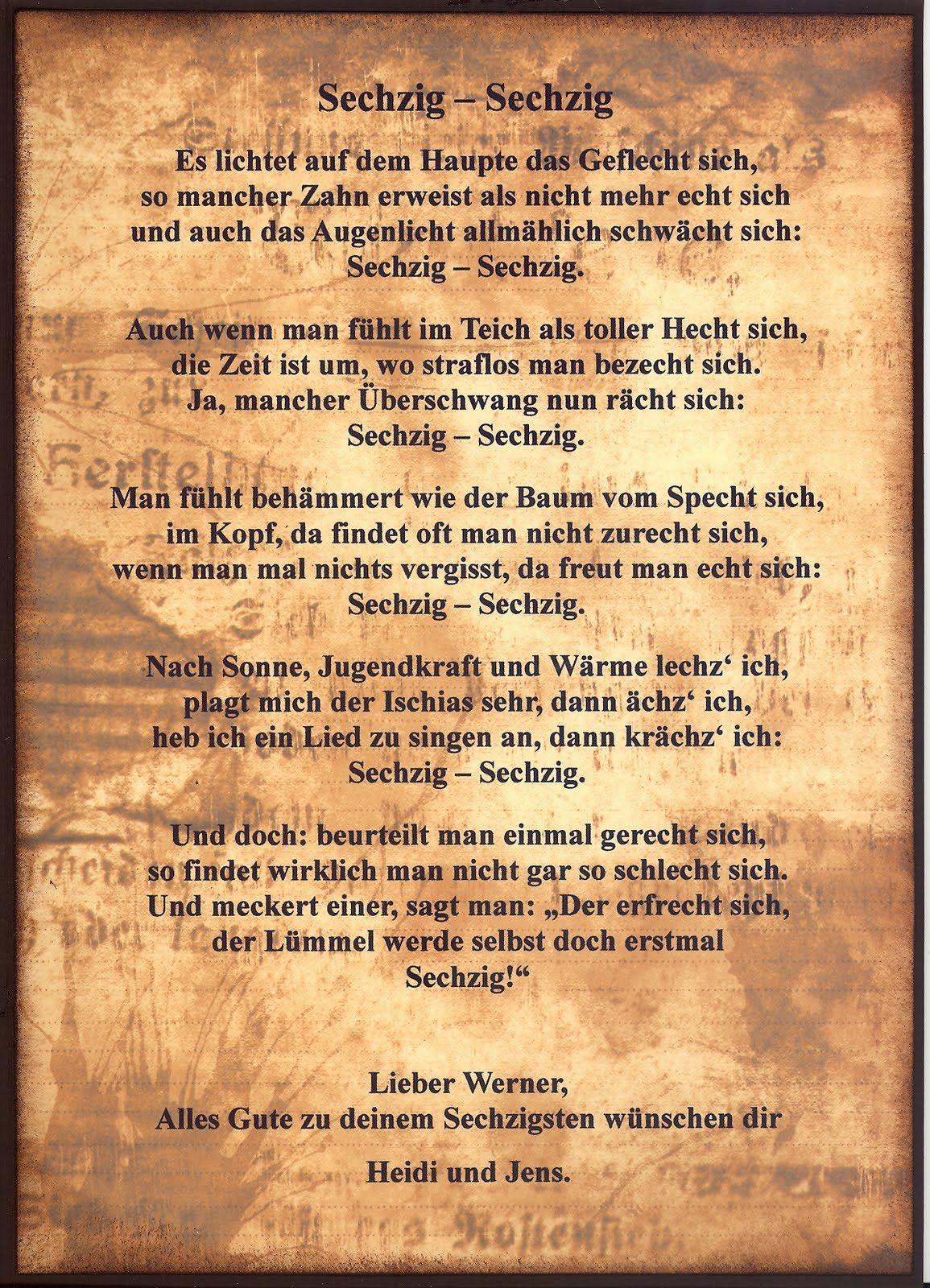 Geburtstagsgrusse Zum 60 Papa Fresh Gedicht Zum 60 Geburtstag