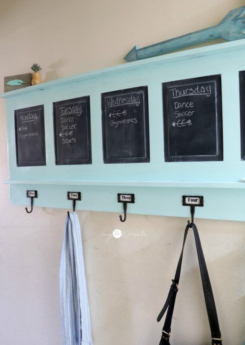 Chalkboard Coat Rack DIY Crafts Pinterest Coat Racks Delectable Chalkboard Coat Rack