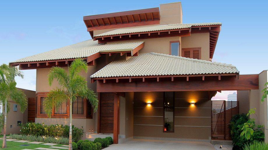 12 fachadas de casas de diferentes estilos por paulo for Fachadas de casas modernas en la ciudad