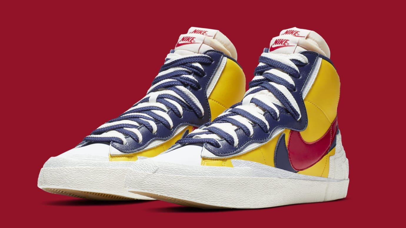 The Sacai x Nike Blazer Mid Collection Is Almost Here (With