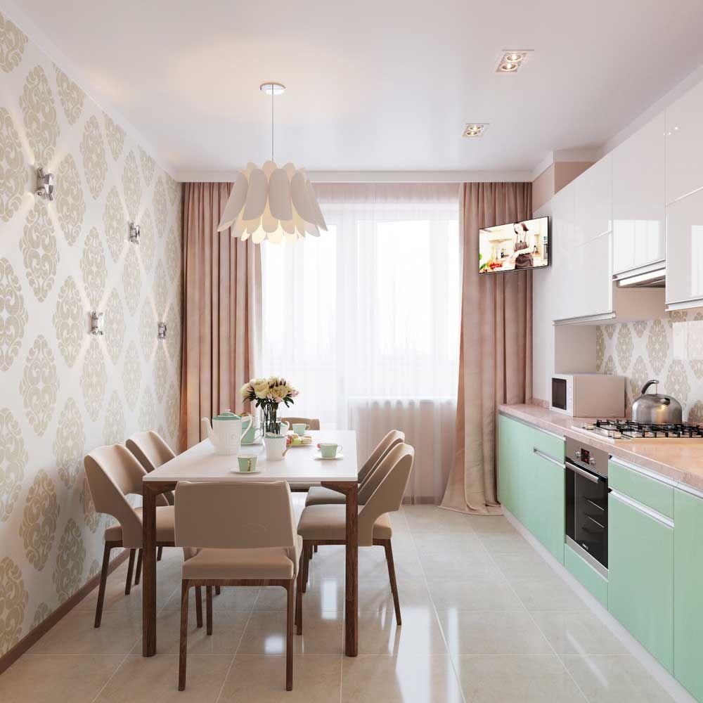 фото дизайн кухни 8 кв.м