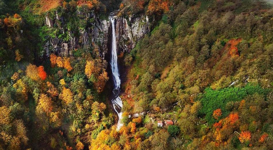 Laton Waterfall in Gilan province