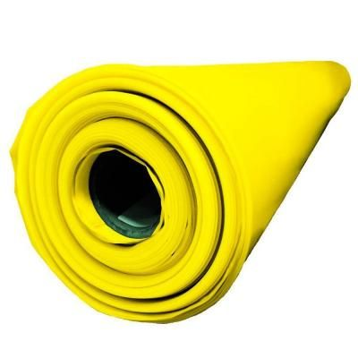Husky 14 Ft X 210 Ft X 10 Mil Yellow Guard Vapor Barrier Cfyg1014 210y The Home Depot Crawl Space Vapor Barrier Black Plastic Sheeting Plastic Sheets