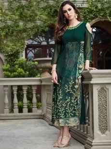 00be415fba15 Buy Designer Party Wear Kurtis Online - Cilory   Anupa designer ...