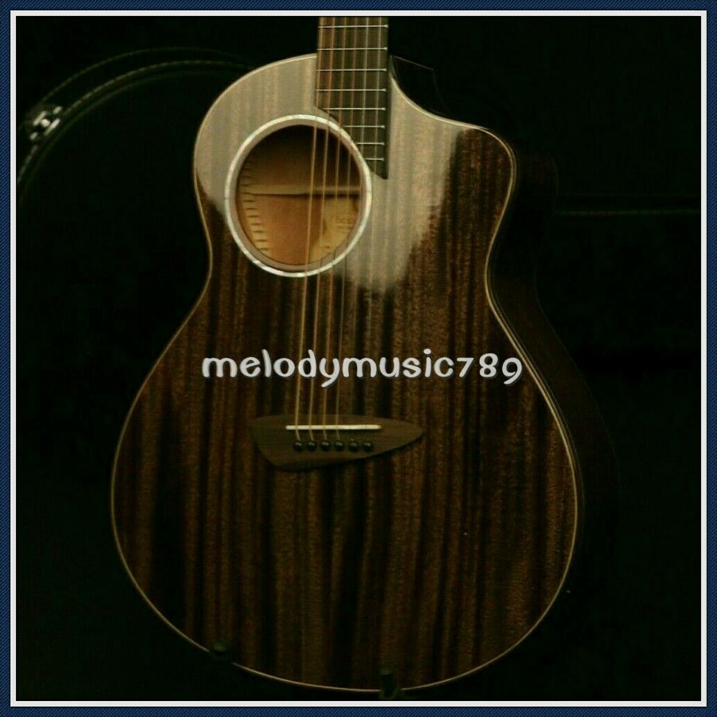 39in Electric Acoustic Guitar Special Hole Sapele Top And Back Side Good Quality Ideas Of Guitar Guitar In 2020 Electric Guitar Kits Acoustic Guitar Guitar Kits