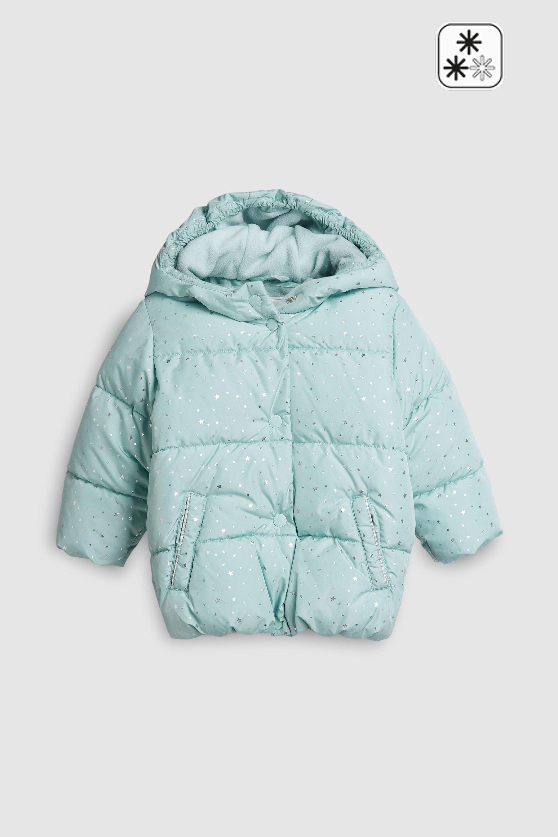 763aae59e Girls Next Star Print Padded Jacket (3mths-6yrs) - Blue