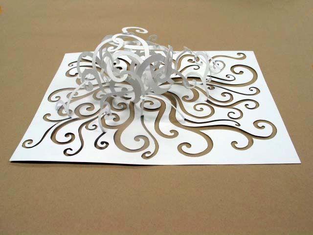 3d paper cut art - Google Search paper cut Pinterest 3d - alu dibond küchenrückwand erfahrung