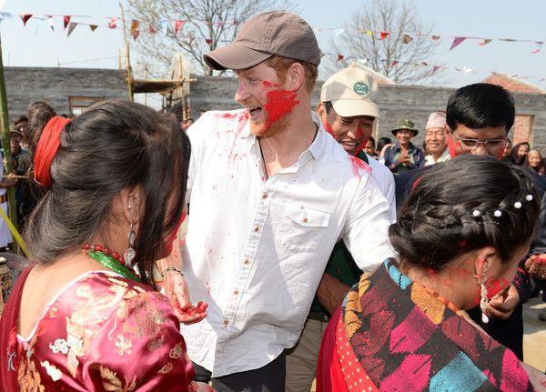 Prince Harry Visits Nepal