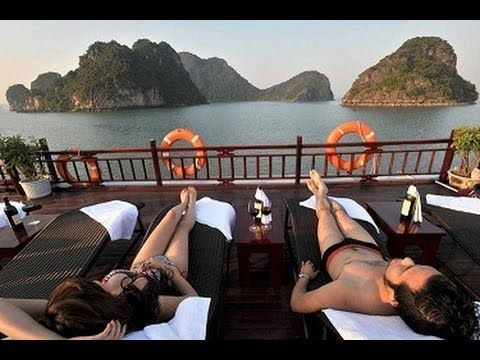 cool Halong Bay Vietnam - Bai Tu Prolonged Bay Non-public cruises - Honeymoon Cruises