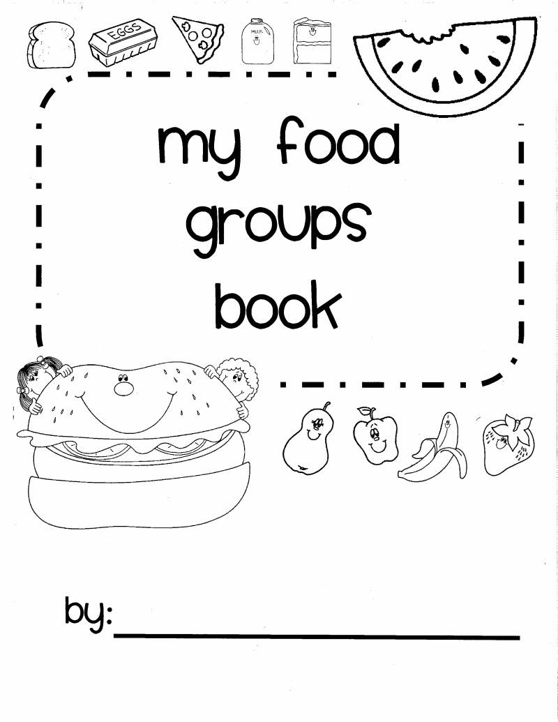 nutrition book pdf classroom ideas pinterest kindergarten
