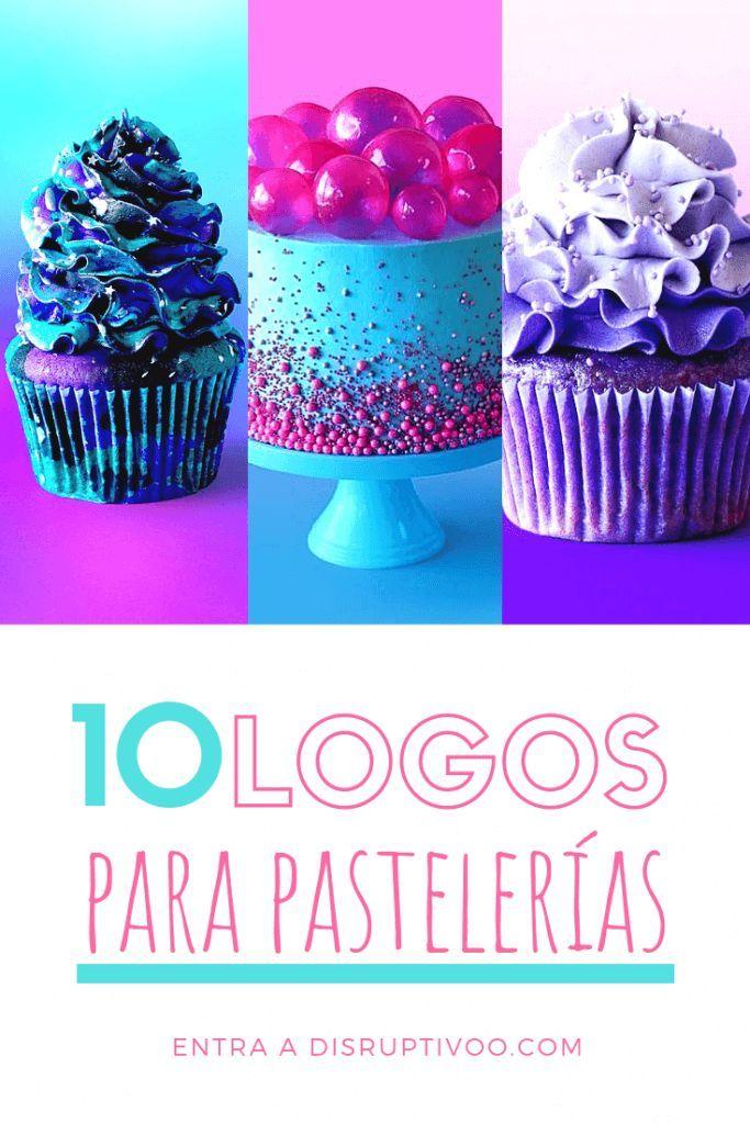 TOP 10 Mejores Logos para Pastelerías y Reposterías