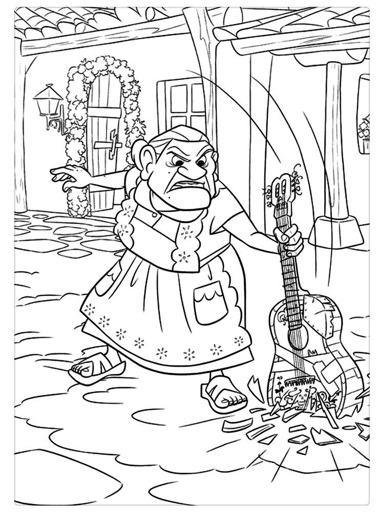 Coco Coloring Pages Online