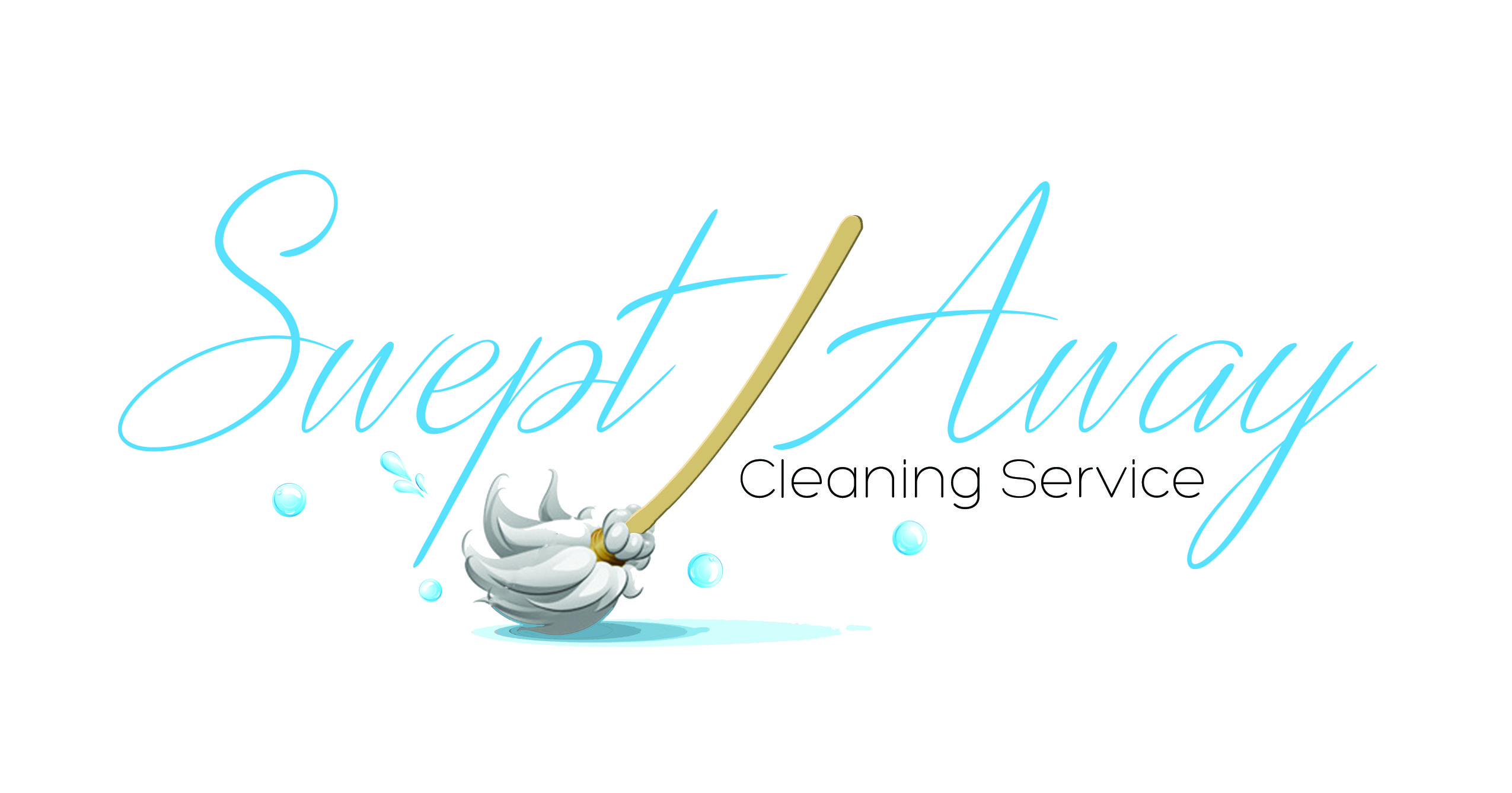 cleaning service logo design by dreamhouse marketing