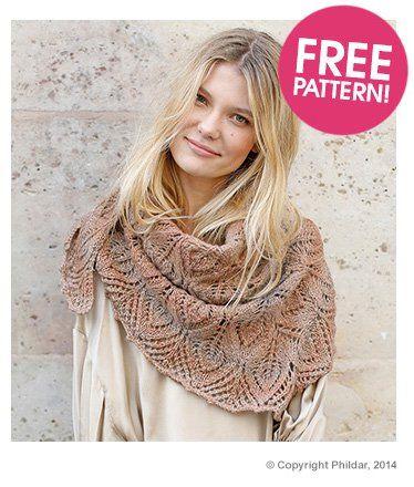 Phildar Triangle Scarf Pattern Deramores Free Knitted Shawl