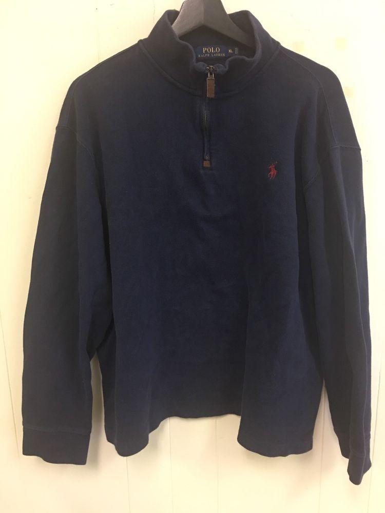 622f7eccd polo ralph lauren half zip sweater